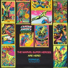 Comic Books Art, Comic Art, Book Art, Graphic Novel Art, Black Bolt, Black Light Posters, Silver Age, Nerd Geek, Third Eye
