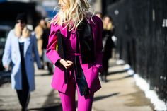 On the Streets of New York Fashion Week Fall 2015 - New York Fashion Week Fall 2015 Street Style Day 7