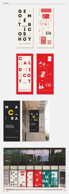 MACBA on Behance in Modern
