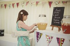 James and Lindsey's 'Fabric and Flowers' Farm Wedding. By Mark Tattersall