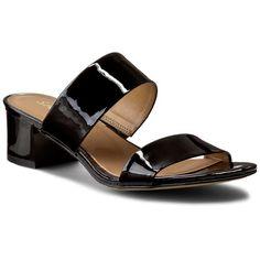 Șlapi SAGAN - 2553 Czarny Lakier Marvel, Sandals, Shoes, Fashion, Moda, Shoes Sandals, Zapatos, Shoes Outlet, Fashion Styles