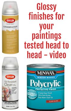 Spray Finish for Acrylic Pour Paintings (Test) Video comparison and testing of different glossy protective finishes for your acrylic paintings.Video comparison and testing of different glossy protective finishes for your acrylic paintings. Flow Painting, Pour Painting, Painting Lessons, Painting Tips, Matte Painting, Acrylic Pouring Techniques, Acrylic Pouring Art, Acrylic Painting Tutorials, Acrylic Paintings