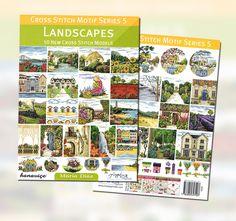 Maria Diaz Designs: Cross Stitch Motif Series 5 - Landscapes (Book)