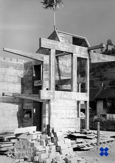 : 248. Pierre Zoelly /// House for Sculptor Peter...