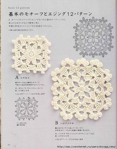 A whole book: Crochet Motifs and Edgings