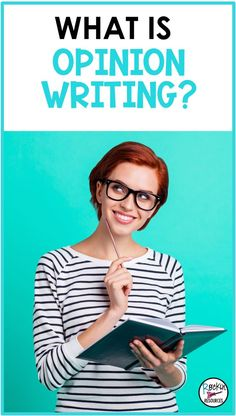 Teaching OPINION WRITING can seem intimidating, but it's really not…or maybe that's just my opinion! :/ Here's why: young minds have OPINIONS on almost everything! In most elementary curriculums, you will find THREE basic types of writing: Narrative, Opinion, and Informative. In this post, we're focusing on OPINION writing; what it is, and how to teach it! Opinion Essay Examples, Opinion Writing Prompts, Writing Mini Lessons, Argumentative Writing, Persuasive Writing, Writing Resources, Common Core Language Arts, Describing Words, College Admission Essay