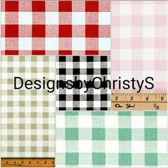 Plaid Straight Crib Skirt-Red Gray Black Navy by DesignsbyChristyS Aqua, Coral, Crib Skirts, Black And Navy, Cribs, Royal Blue, Hot Pink, Plaid, Trending Outfits