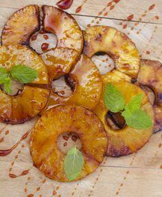 Ananas op de BBQ | Tiense suiker