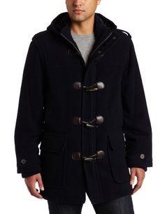 Tommy Hilfiger Men's Wool Plush Toggle Coat