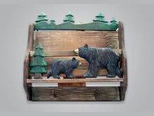 Black Bear Wall Hook