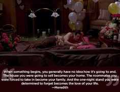 "You never know what lies ahead. | 23 Life Lessons We Learned From ""Grey's Anatomy"""