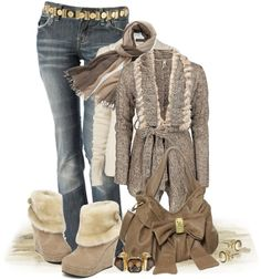"""Bundle Up!"" by johnna-cameron ❤ liked on Polyvore"