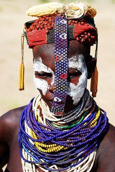 Africa | Daasanach Woman. Omo Valley, Ethiopia | © Jon Bratt