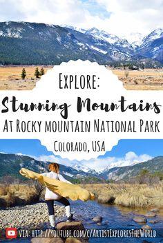 Experience Rocky Mountain National Park, Colorado, USA