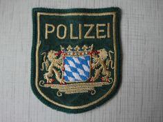 Germany Police Patch München Deutschland Polizei Bayern 100% Original Rarity  | eBay