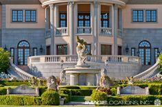 Dream wedding destination at the Pasadena Princess.  #weddingestates #mansionweddings #dreamwedding