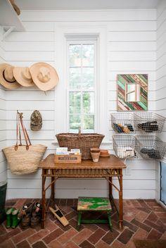 Shiplap in Farmhouse