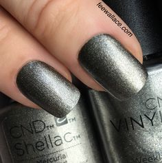 CND NIGHTSPELL Shellac and Vinylux color Mercurial by Fee Wallace
