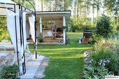 kesäkeittiö,piha,pihan istutukset,puutarha,piharakennus,puutarhajuhlat,puutarhakalusteet