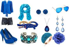 """""""Beautifully Blue"""" by madisonkendall38 ❤ liked on Polyvore"""