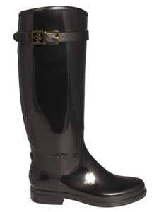 DAV Rainboots | Devon Solid Black Boots