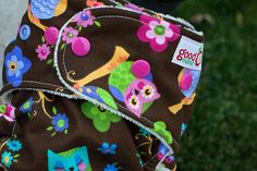 Night Bright One-Size Fitted Diaper by thegoodmama.com, via Flickr