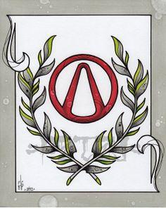 Vault Hunter Tattoo Art Print