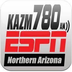 AM 780 KAZM   @KAZMRadio    #1 Radio Station in N. Arizona... Diamondbacks, Cardinals and NASCAR affiliate..   Sedona, Arizona      kazmradio.com      Joined December 2010 Arizona Diamondbacks, Sedona Arizona, Espn, Cardinals, Nascar, December, Company Logo, Logos, Logo