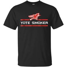Yote Smoker T-Shirt | Coyote Animal Hunting Tee Coyote Animal, Coyote Hunting, Hoodies, Tees, Mens Tops, T Shirt, Supreme T Shirt, Sweatshirts, T Shirts