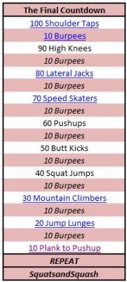 workouts that are great for when you can't make it to the gym,