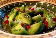 зеленые помидоры по корейски самый вкусный рецепт