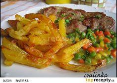 Steakové hranolky recept - TopRecepty.cz