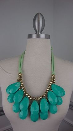 This statement necklace makes a statement! $42
