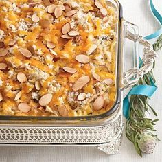 Chicken-and-Wild Rice Casserole | Save time (and dirty dishes) with lidded bakeware that goes from oven to freezer to fridge with ease. | SouthernLiving.com