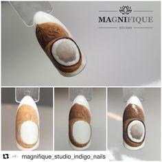 #Repost @magnifique_studio_indigo_nails (@get_repost) ・・・ Coconut Tutorial. Indigo arte brillante gel❤️ #indigonails #indigo #indigonailslab #wzorkiindigo #wzorkinapaznokcie #wzorkireczniemalowane #wzornik #stepbystep #kokos #kokosnuss #coconut #indigonailart #indigoyoungteam #owocowewzorki #owocenapaznokciach #owoceręczniemalowane #indigowzornik #amazingnails #fruitnails #nailpaints #naildesign #nail4today #nailart #nailsofinstagram
