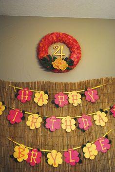 Hawaiian Luau Birthday Party Ideas | Photo 19 of 23 | Catch My Party