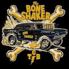 Hot rod art by Jeff Norwell Vintage Signs, Vintage Posters, Car Drawing Pencil, Raiders, Bone Shaker, Motorcycle Posters, Garage Art, Car Colors, Biker