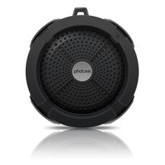 Photive Rain Waterproof Portable Bluetooth Shower Speaker is now sold at 60% OFF. Save $30.00 on this great find! | List Price (before): $49.95 / With Deal (now): $19.95 & FREE Shipping on orders over $35 / You Save: $30.00 (60%) | Great deal brought to you by Best Buy Portable Speakers
