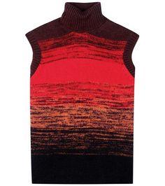 Bottega Veneta Wool Turtleneck Sweater Vest For Spring-Summer 2017