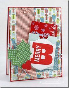 Gift Card Greetings, Gift Card Pocket - Vertical Die-namics - Barbara Anders