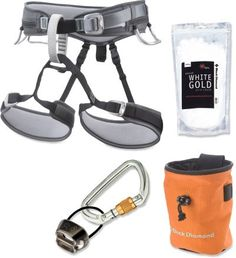 REI Black Diamond Rock Climbing Harness Package - Closeout deal $69.93 no shipping
