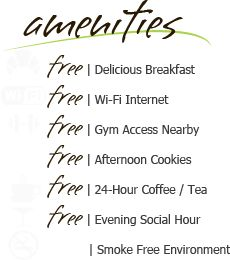 The Willows Hotel in Chicago has so many great amenities to offer! Book directly with us for the best available rates!