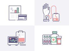 livico: Heatlhcare & Medicine by Laura Reen #Design Popular #Dribbble #shots