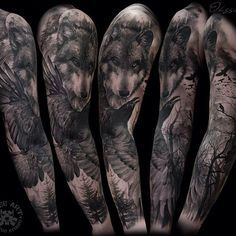 Haven't got the guts to get a whole sleeve bot wow is this beautiful!