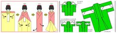 lovers crafts: Washi Ningyo (和紙 人形) o Ane-sama Ningyo