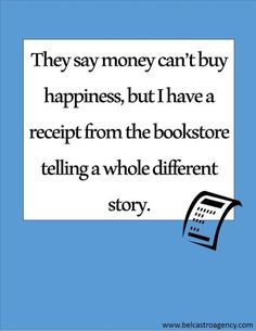 Books = Happiness.