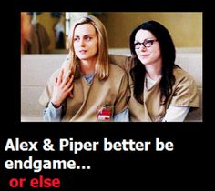 Orange is the New Black - Piper & Alex