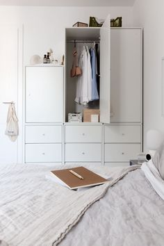 Montana Furniture Wardrobe updated - via Coco Lapine Design bog Wardrobe Furniture, Bedroom Furniture, Garderobe Design, Custom Home Bars, Montana Furniture, Small Cupboard, Wardrobe Solutions, Old Apartments, Closet Bedroom