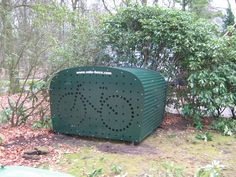 Garage Velo, Outdoor Bike Storage, Cycle Storage, Decoration, Shelter, Tiny House, Architecture, Bicycles, Storage Ideas