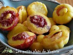 Petites bouchées moelleuses aux fruits de saison